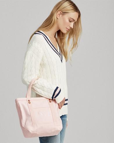 Canvas Small Love Tote Bag