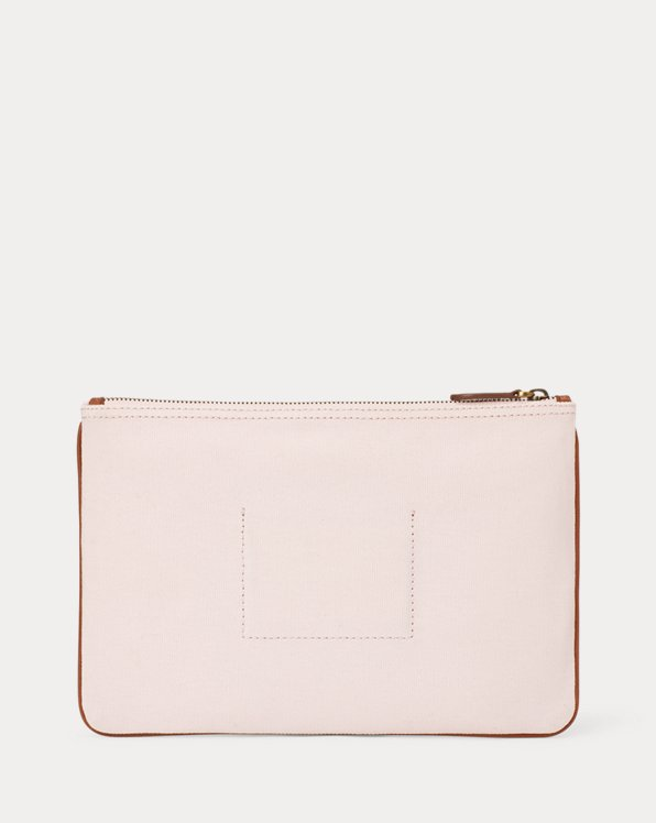 Pink Pony Love Canvas Pouch