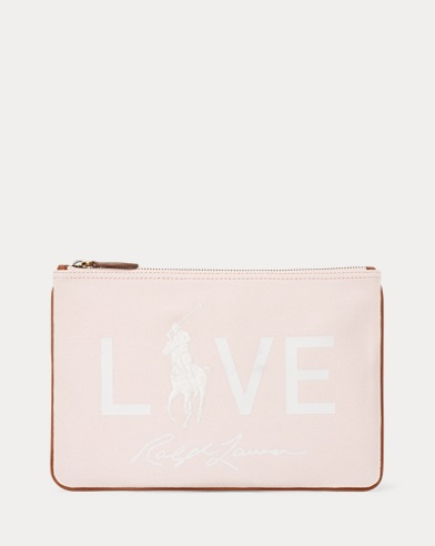 Canvas Love Big Pony Pouch