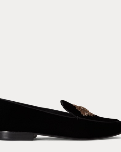 Camden Bullion Velvet Loafer