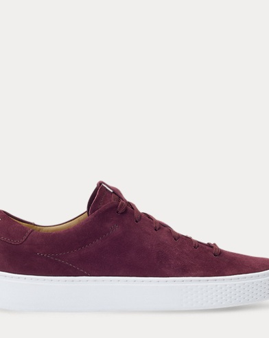 Court 125 Suede Trainer