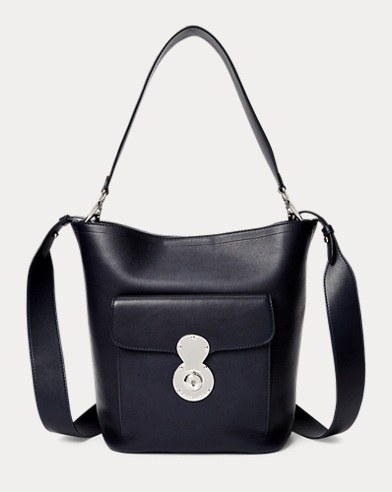 Calfskin RL Bucket Bag