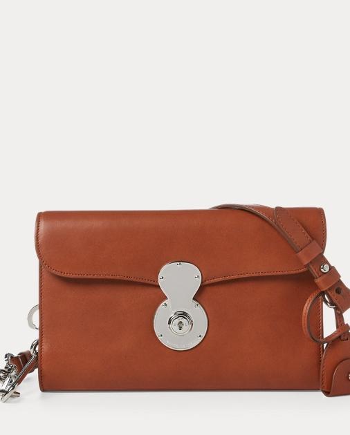 f3179beccd Ralph Lauren Leather Ricky Crossbody Bag 1