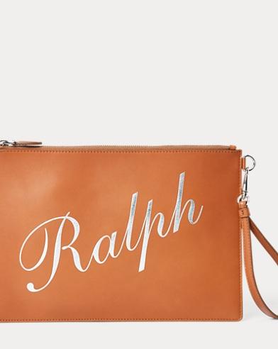 Calfskin Ralph Wristlet