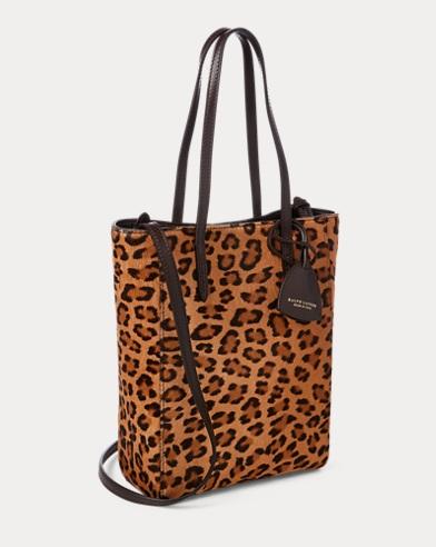 Leopard Mini Modern Tote Bag Ralph Lauren