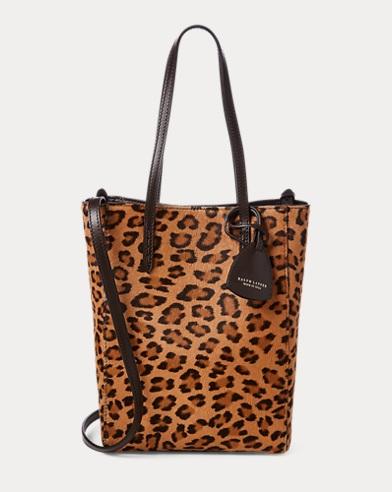 83646cfad4 Leopard Mini Modern Tote Bag. Exclusive. Ralph Lauren