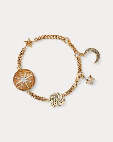 Crystal Charm Bracelet