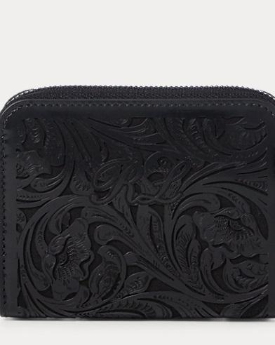 Laser-Cut Calfskin Wallet