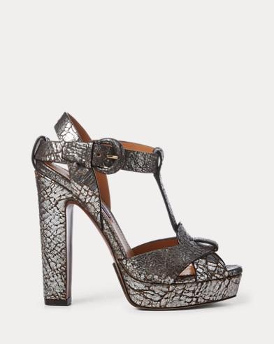 Kerrey Leather T-Strap Sandal
