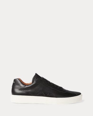 Ledersneaker Court100