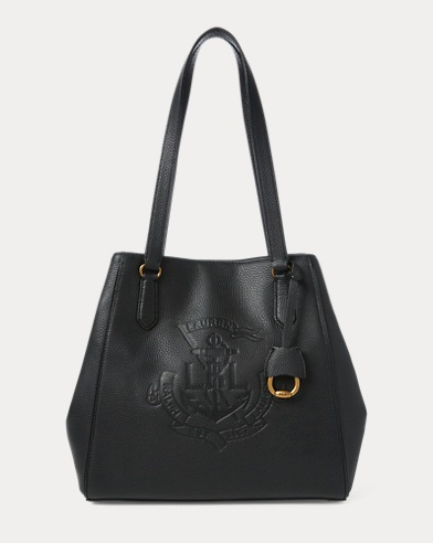 f0cd3fee5b Anchor Leather Tote