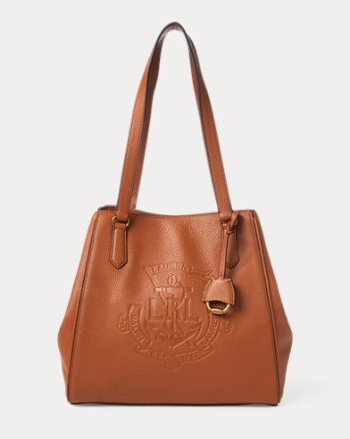 Anchor Leather Tote