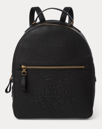 Anchor Leather Backpack