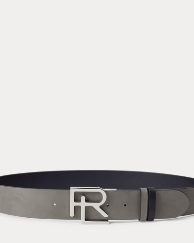 Reversible RL Calfskin Belt