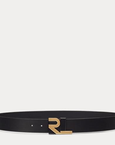 Cinturón de piel de becerro RL
