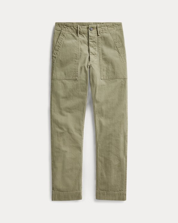 Cotton Utility Trouser
