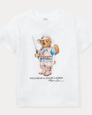 90810c61f0e Little Kid Fishing Bear Shirt