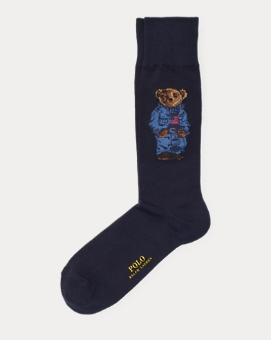 Polo Bear Crew Socks