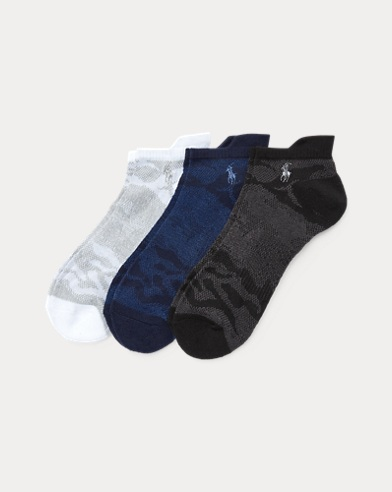Camo Low-Cut Sport Sock 3-Pack