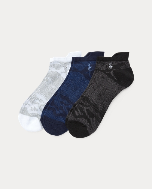 c56561af78de Polo Ralph Lauren Camo Low-Cut Sport Sock 3-Pack 1