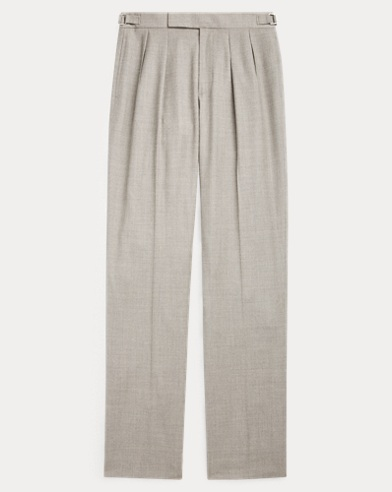 Andover Wool Straight Trouser