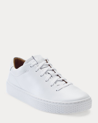 Sneaker Court 125 in pelle