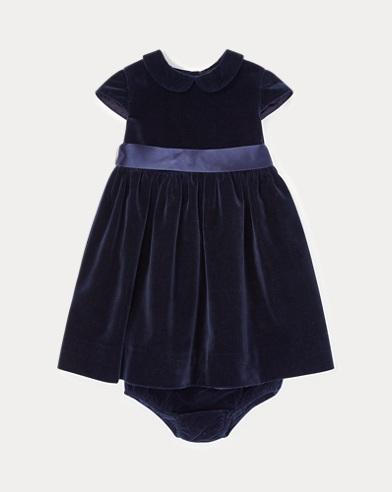 Velvet Dress & Bloomer