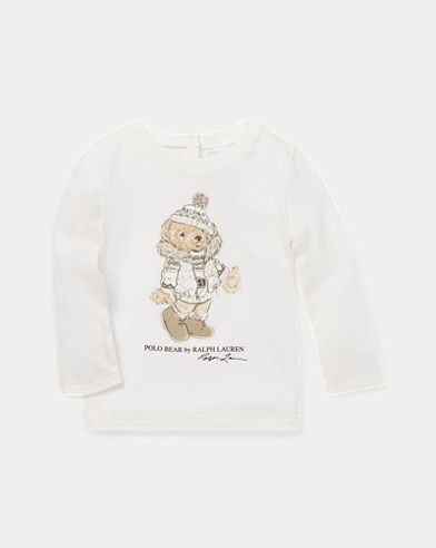 Ice-Skating Bear T-Shirt