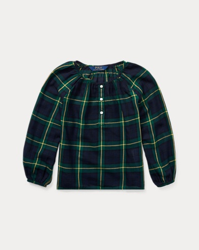 Tartan Cotton Top