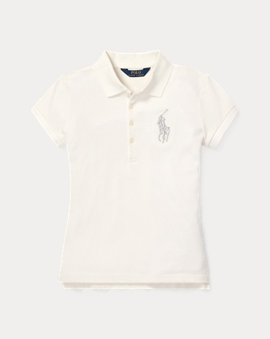 Polo Big Pony coton piqué stretch