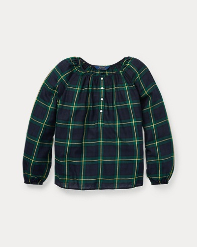 Tartan Plaid Cotton Top