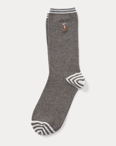 Striped Cotton Trouser Socks