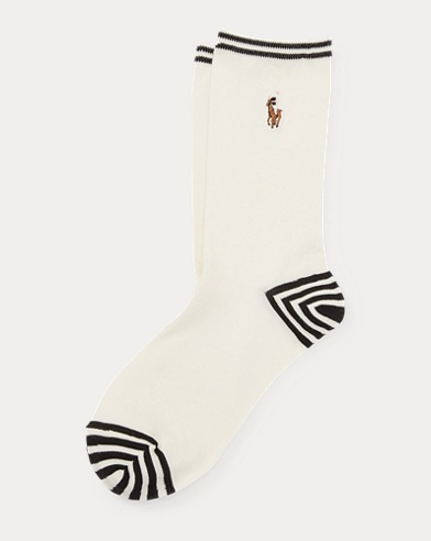 RL Cable Boot Socks