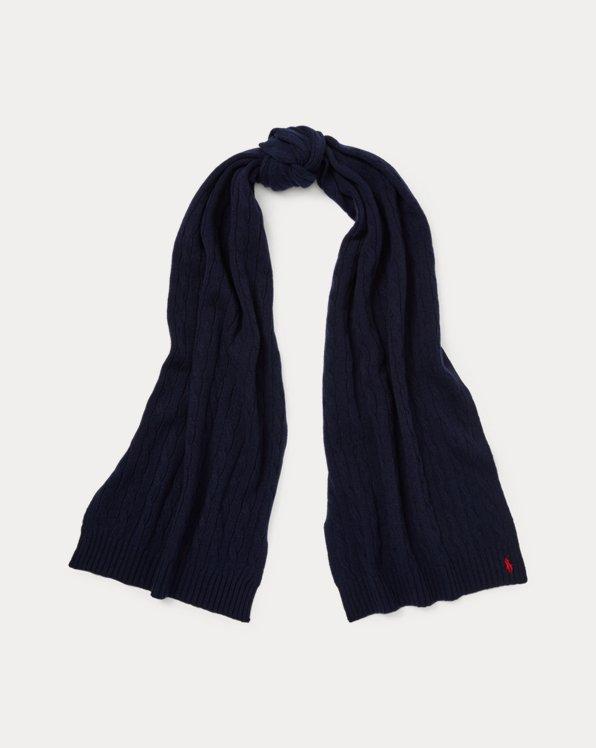 Wool-Cashmere Rectangular Scarf