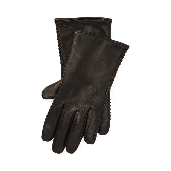 Polo Ralph Lauren Stitched Sheepskin Gloves