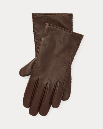 Stitched Sheepskin Gloves