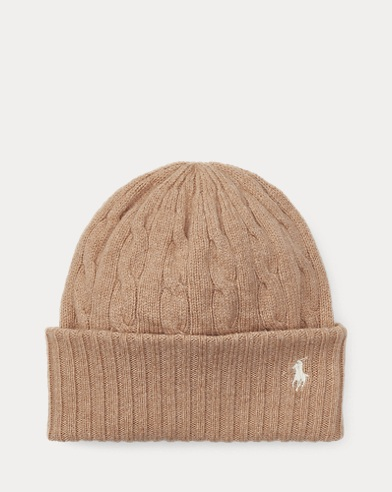 Cashmere-Wool-Blend Beanie