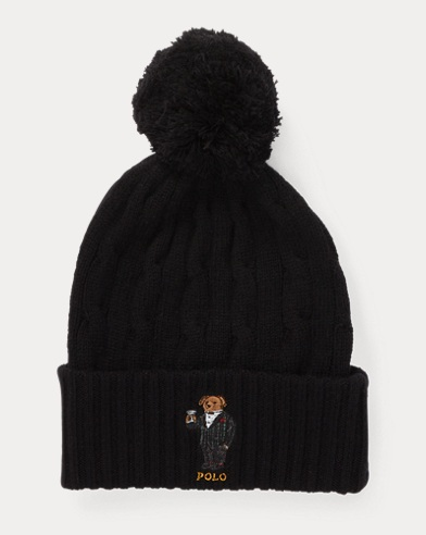 Polo Bear Pom-Pom Hat