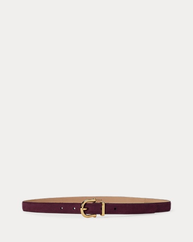 Nappa Leather Skinny Belt