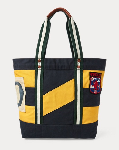 Rugby Canvas Tote