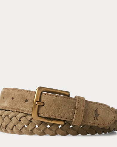 Braided Suede Belt