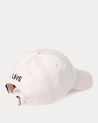 ec19322dae66b Pink Pony Cotton Baseball Cap. Polo Ralph Lauren