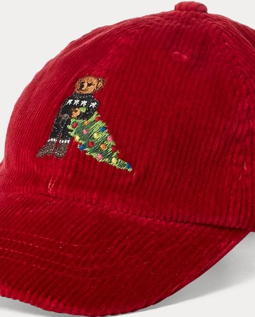 Bear Corduroy Baseball Cap 3f31bb2ff2d