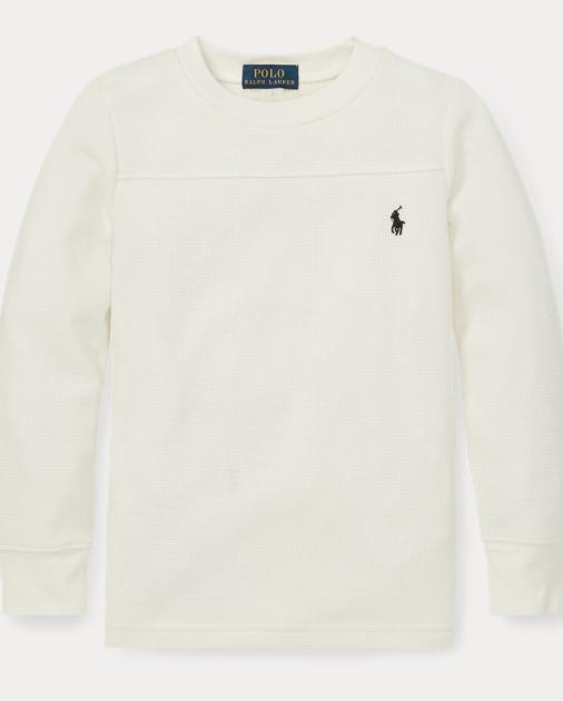 ff6264c67 Waffle-Knit Crewneck T-Shirt