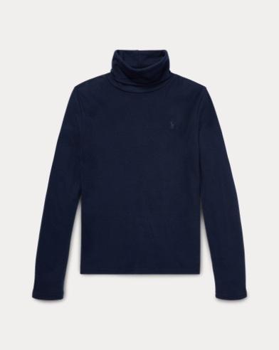 Cotton-Modal Turtleneck