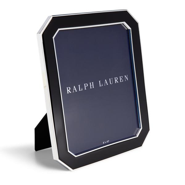 Ralph Lauren Becker Frame Black Silver 8