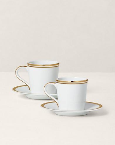 Lot de tasses à café Wilshire