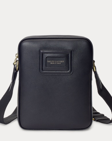 ID Badge Leather Crossbody Bag