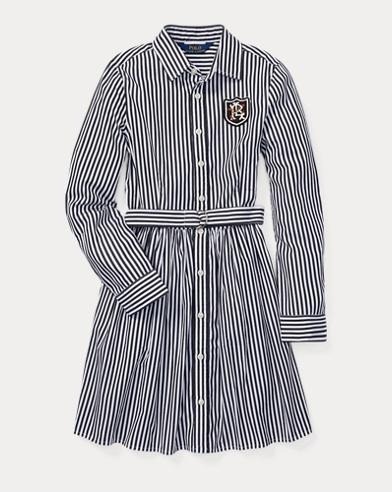 Bengal-Stripe Shirtdress