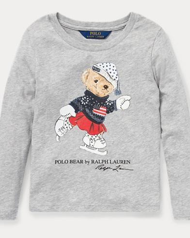 Holiday Bear Cotton T-Shirt